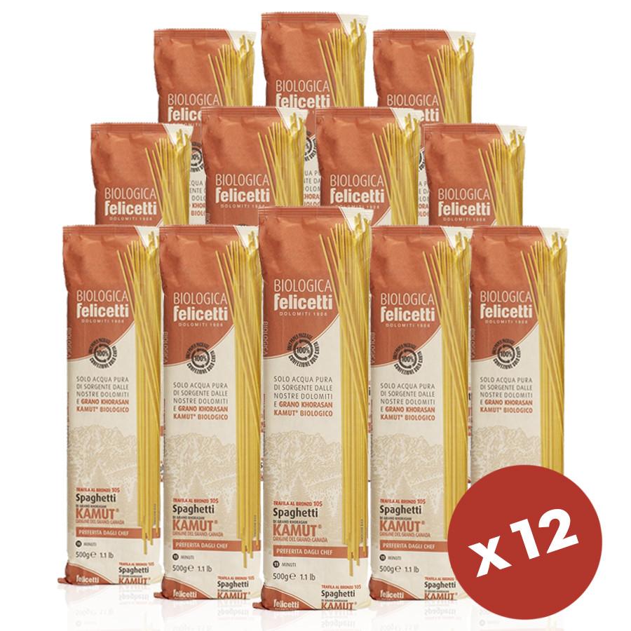 dispensa di pasta bio kamut khorasan spaghetti Felicetti 6 Kg