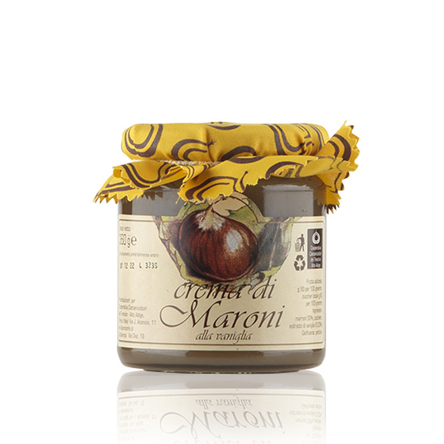 Crema di Marroni alla vaniglia