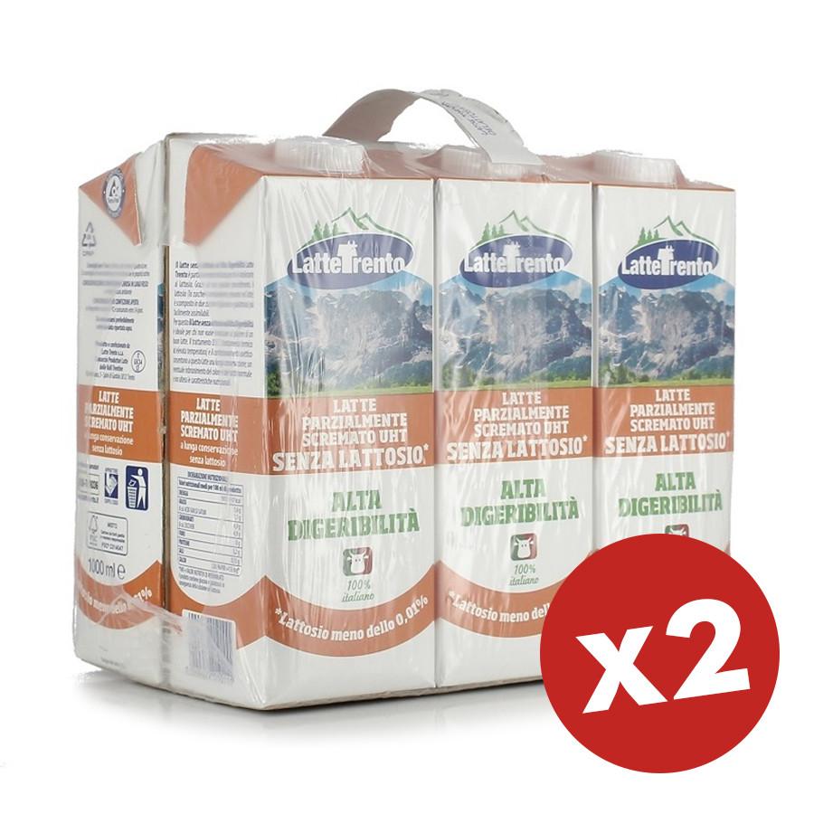 latte trento delattosato x 12