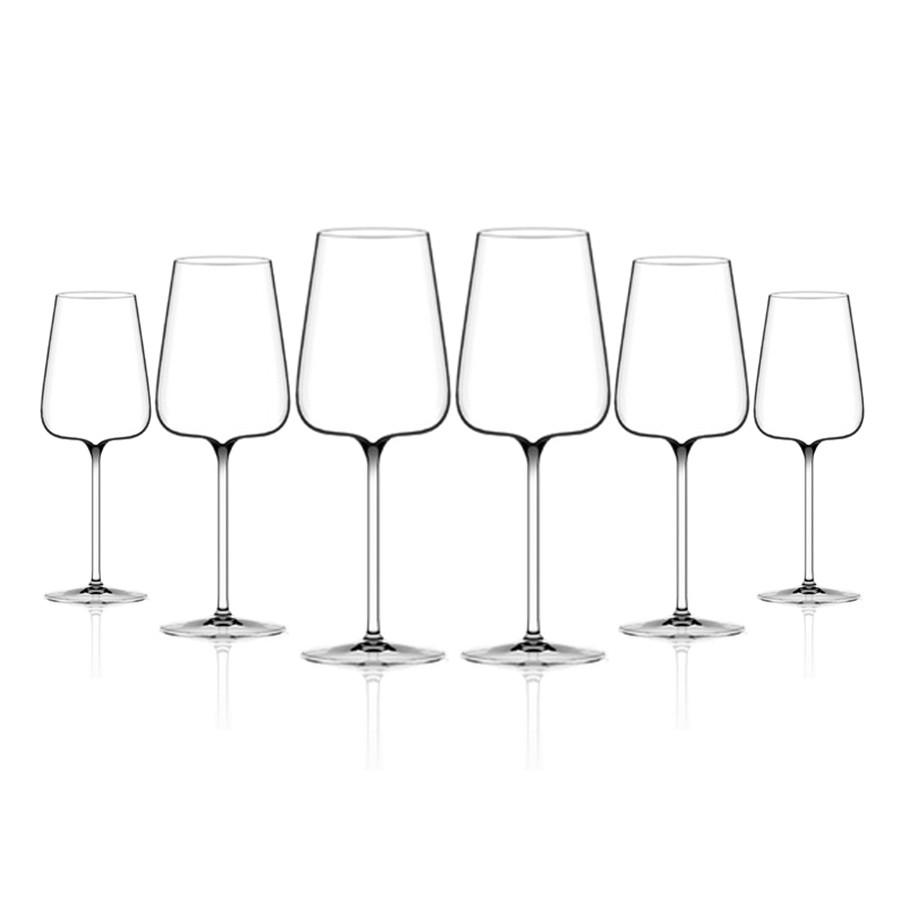 6 calici Etoile Blanc Italesse