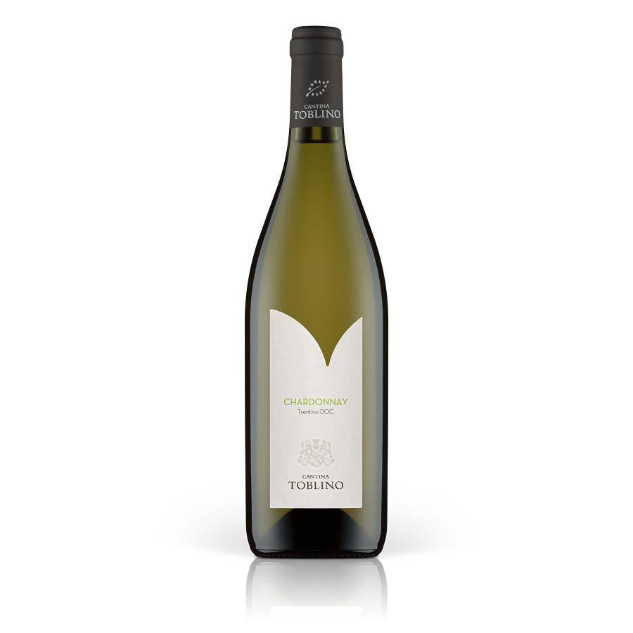 Vino bianco fermo Chardonnay Biologico Cantina Toblino Trentino IGT