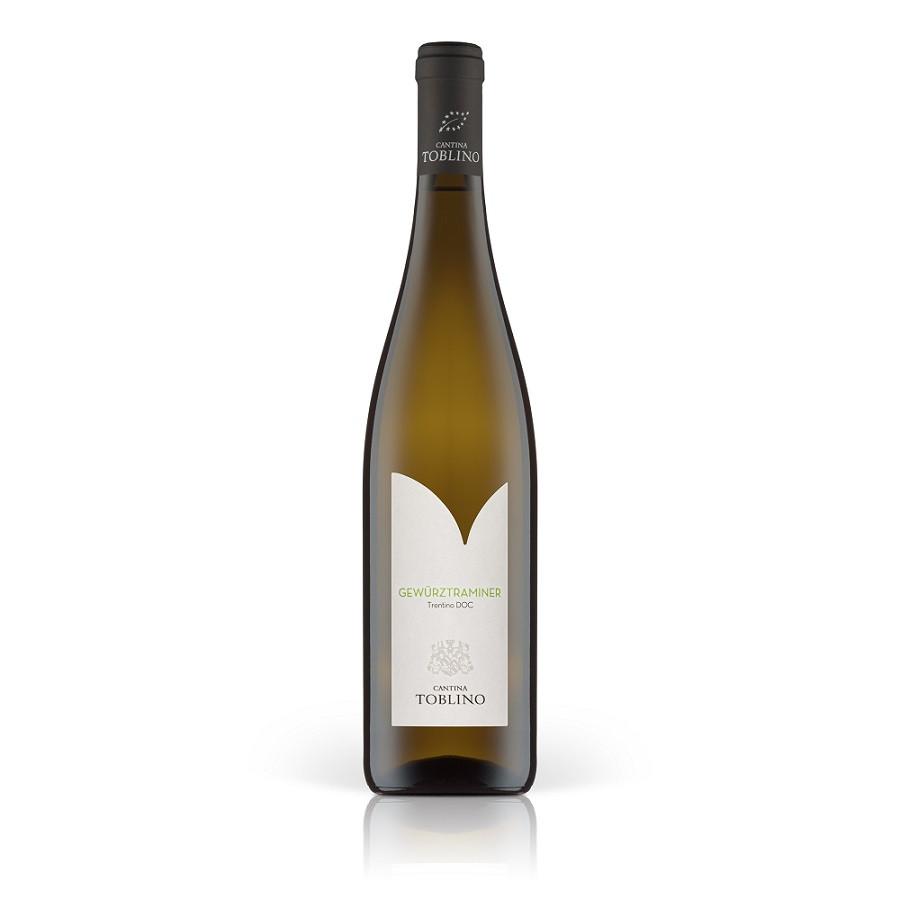 Vino bianco trentino Gewürztraminer biologico