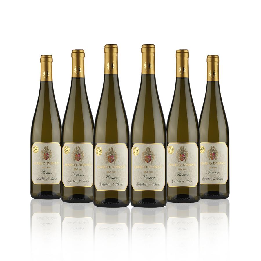 Vino bianco Kerner Cantina Donati Trentino 6 bottiglie