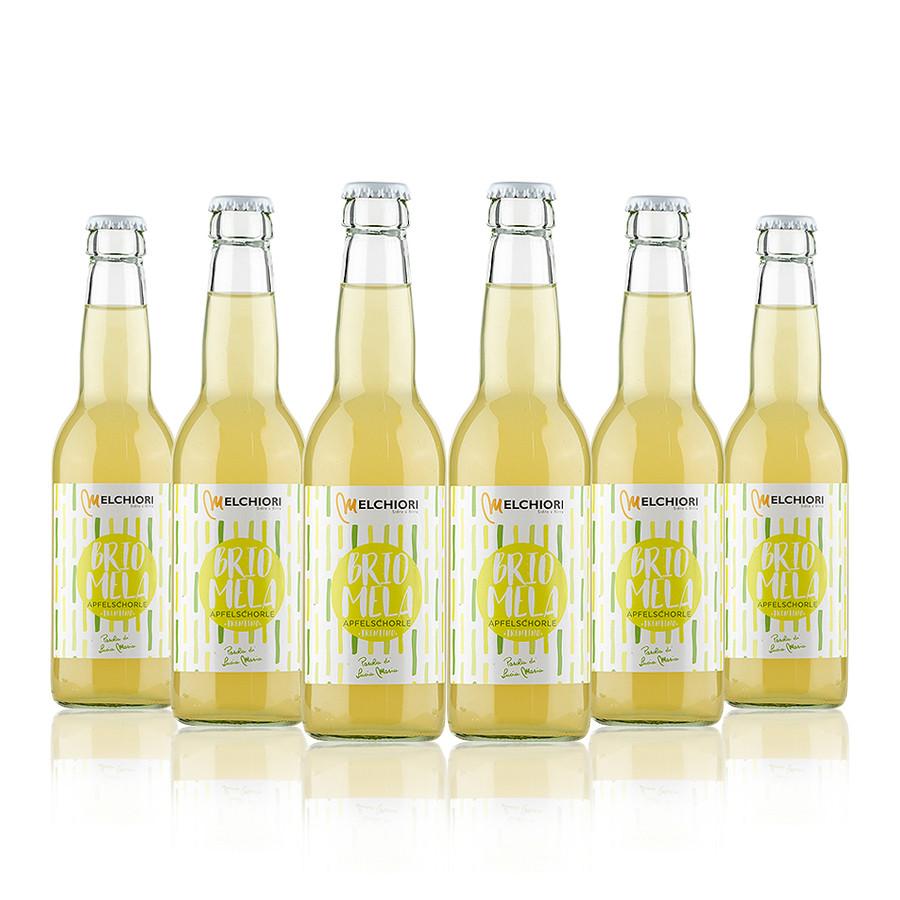 Brio Mela Apfelschorle 6 bottiglie Melchiori