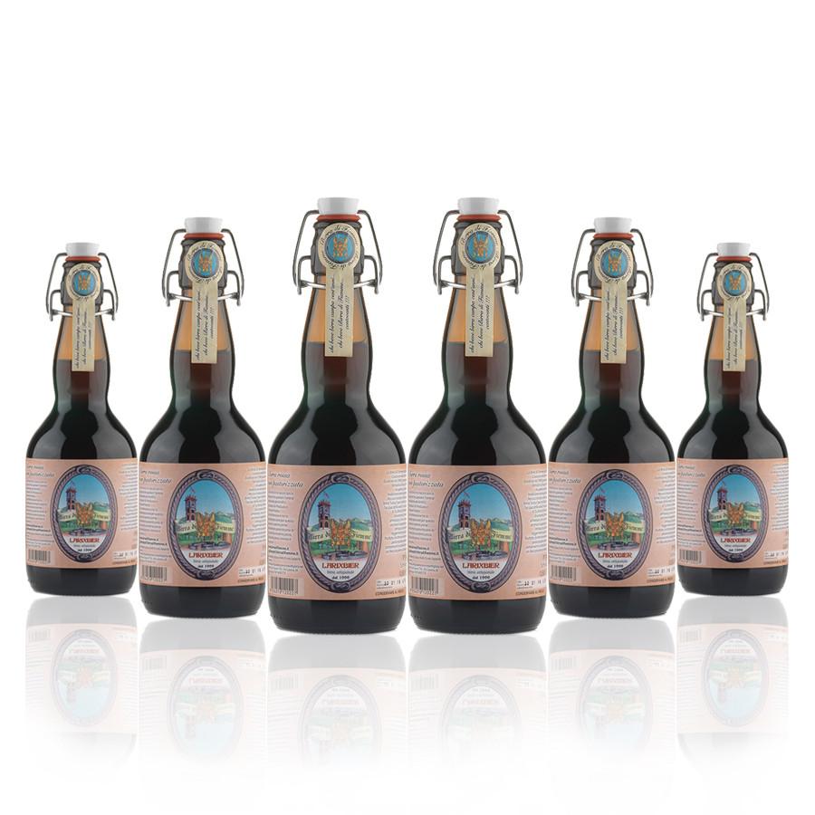 6 bottiglie Birra artigianale trentina Larixbier 0,5 l stile Dunkel