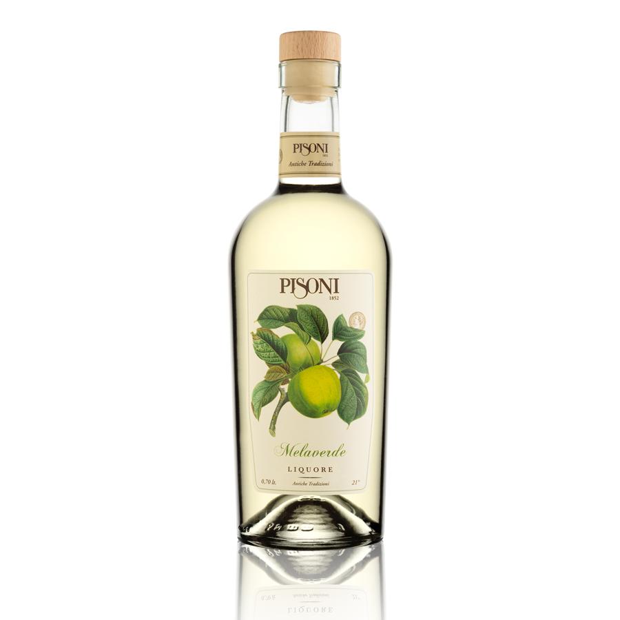 Liquore mela verde trentina