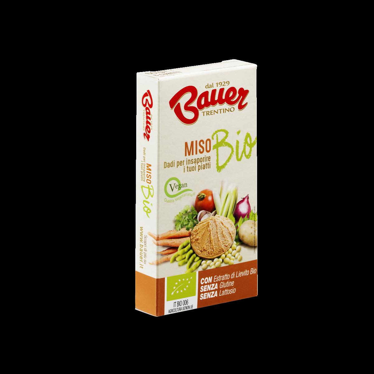 Dado brodo vegetale bio Miso 60 gr