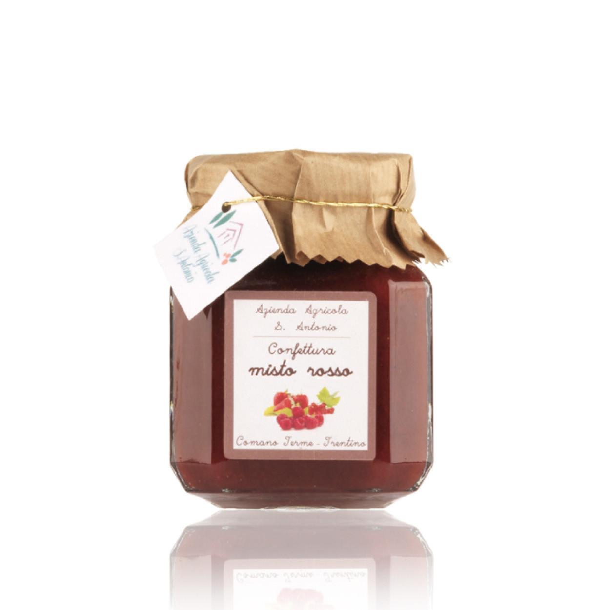 confettura frutti rossi misti del trentino 220 g