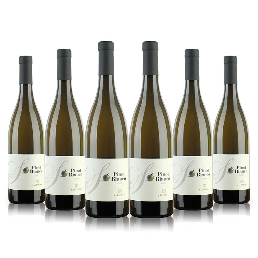 Confezione risparmio 6 bottiglie vino bianco pinot barricato Trentino DOC