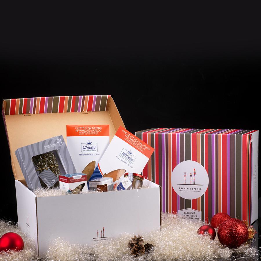 confezione regalo Tridentum pesce Armanini Natale 2020