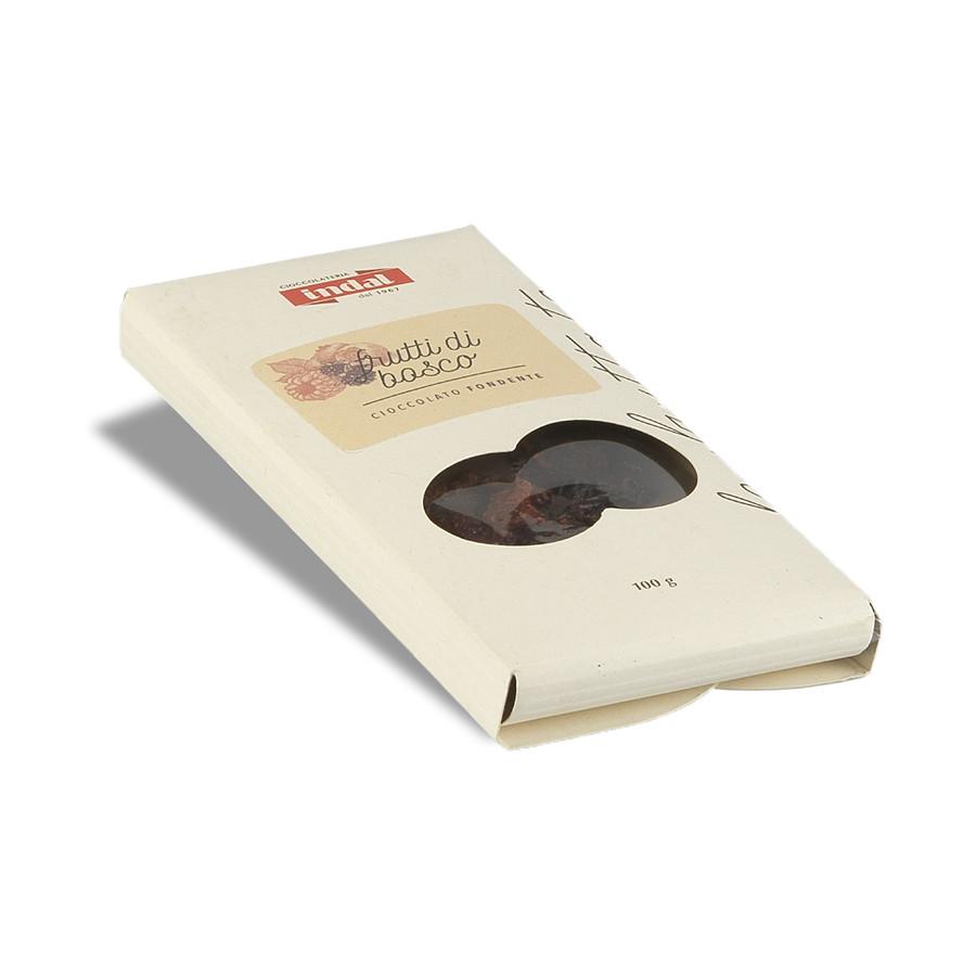 Tavoletta cioccolato fondente frutti di bosco Indal