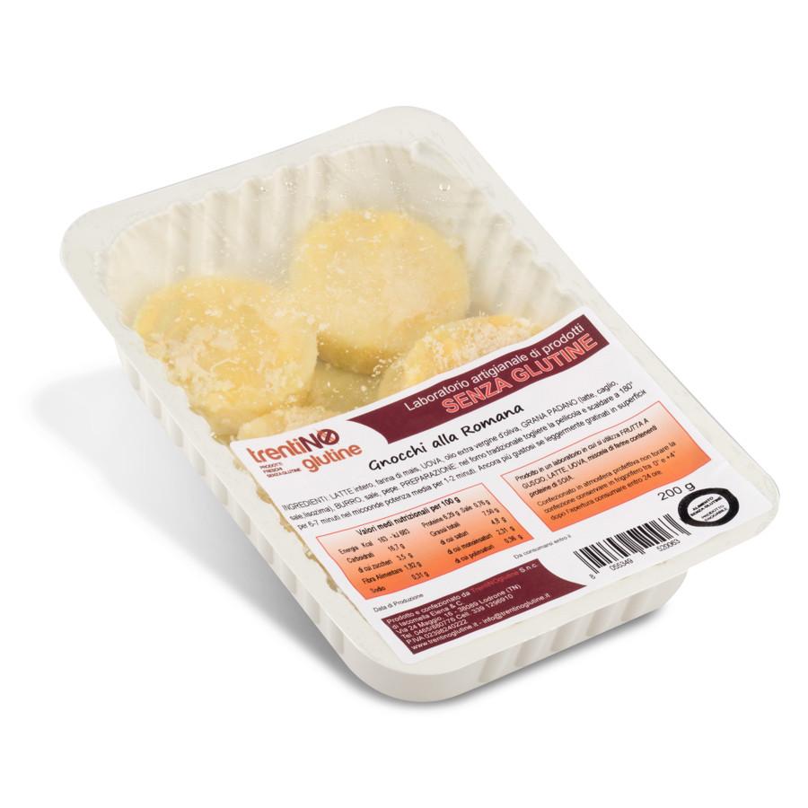 Gnocchi alla romana senza glutine per celiaci