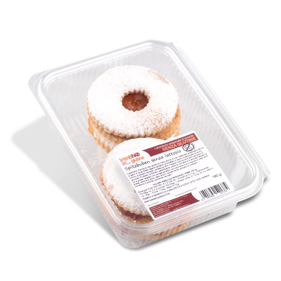 Biscotti Spitzbuben senza glutine e lattosio