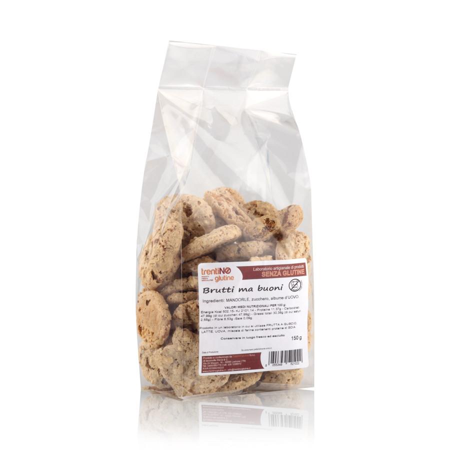 Biscotti brutti ma buoni senza glutine e lattosio