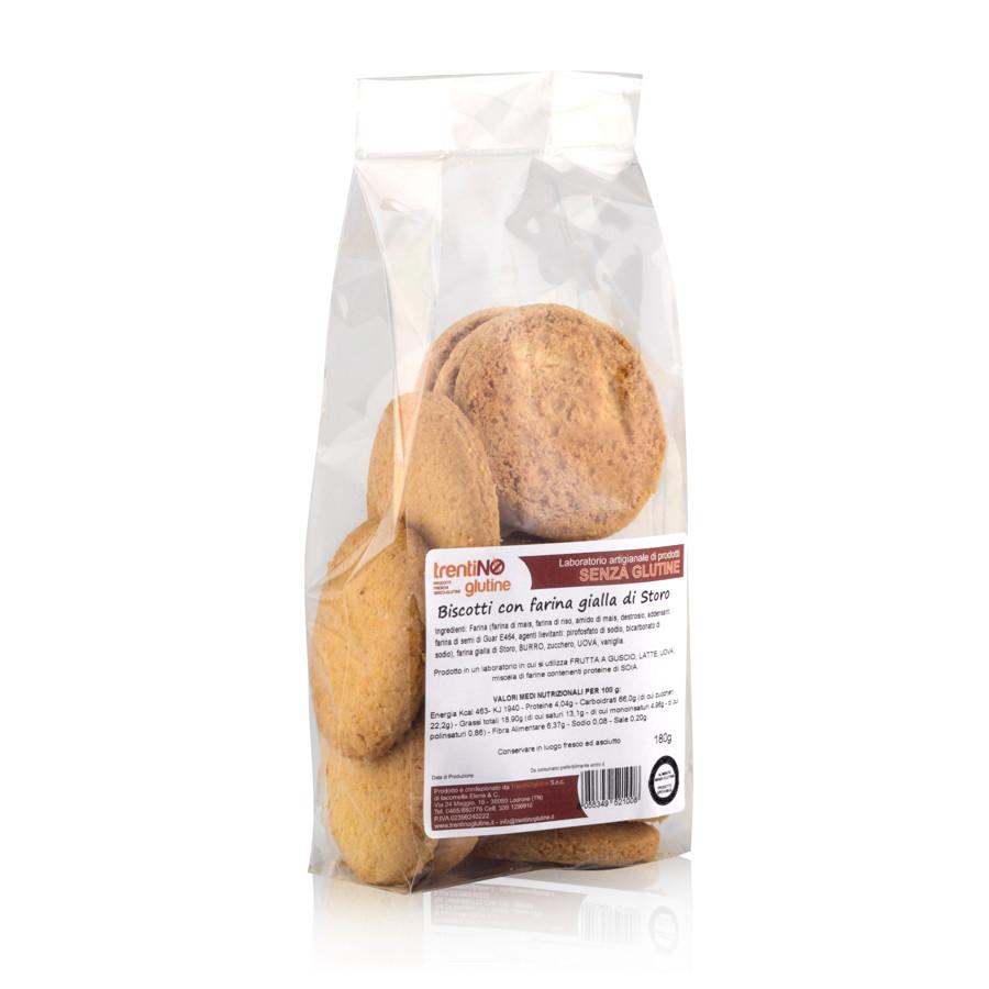 Biscotti con farina gialla di Storo senza glutine