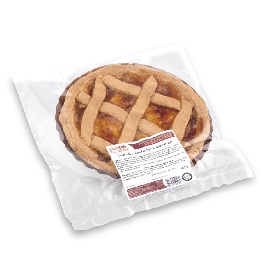 Crostata confettura albicocca senza glutine