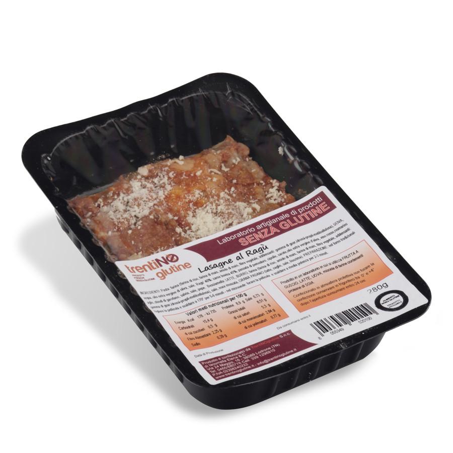 Lasagne senza glutine al ragù di carne