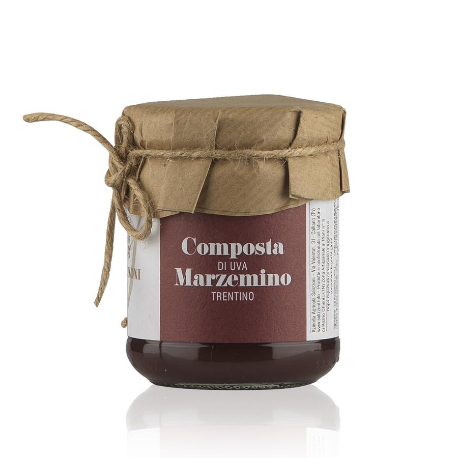 Composta di uva Marzemino Trentino Cantina Salizzoni 210 g