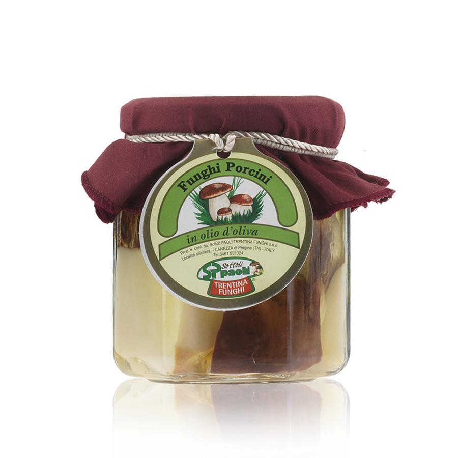 Fette Funghi Porcini in Olio d'Oliva 200