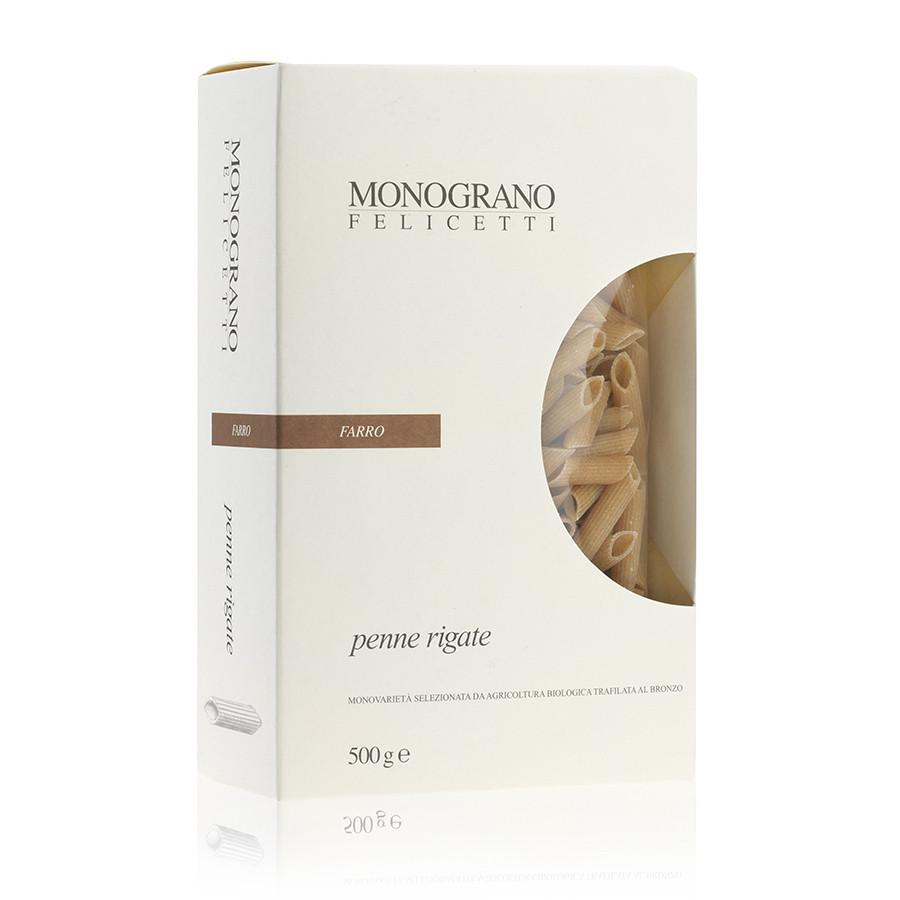 Penne Rigate Monograno Farro 500