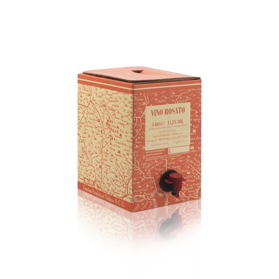 bag in box Rosato 5 litri