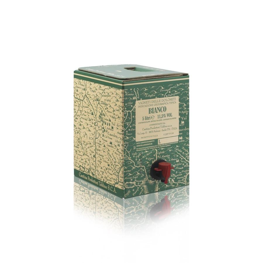 bag in box vino bianco IGT vigneti delle Dolomiti 5 litri