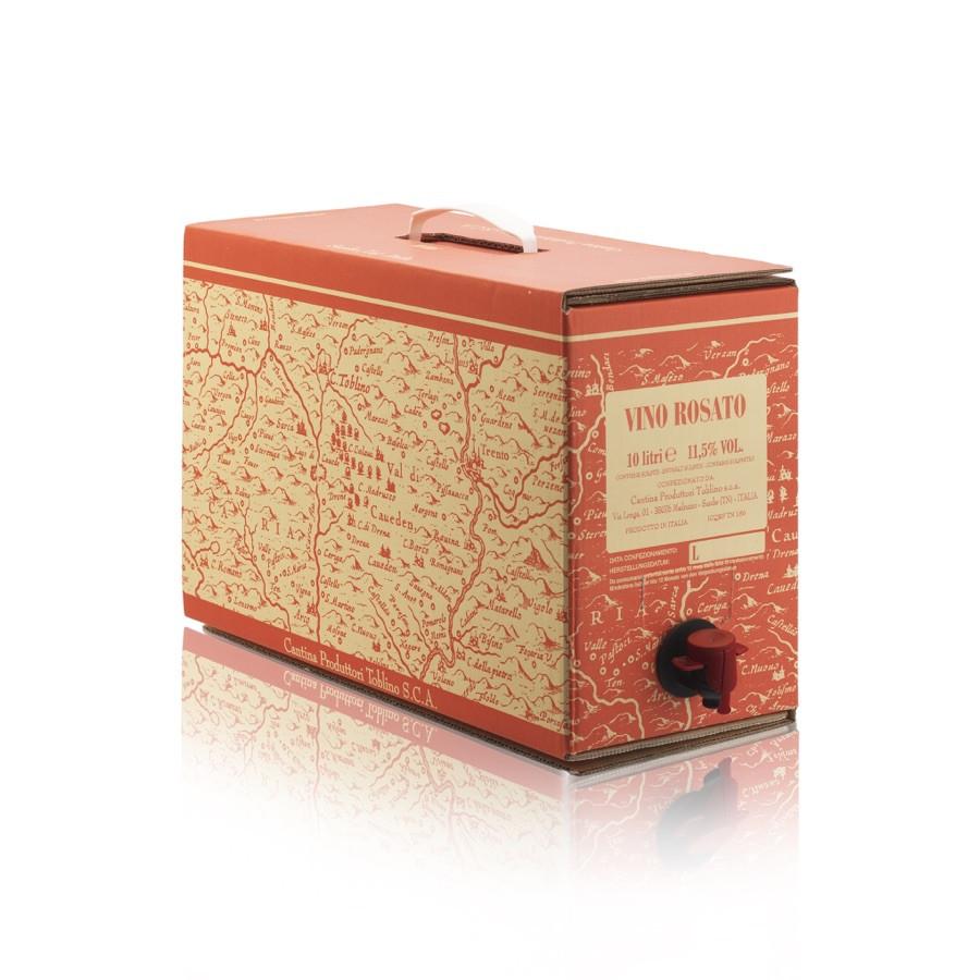 bag in box Rosato 10 litri