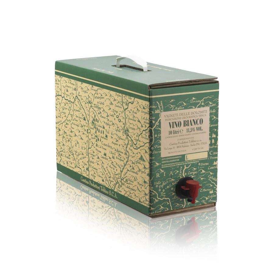 bag in box vino bianco IGT Vigneti delle Dolomiti 10 litri