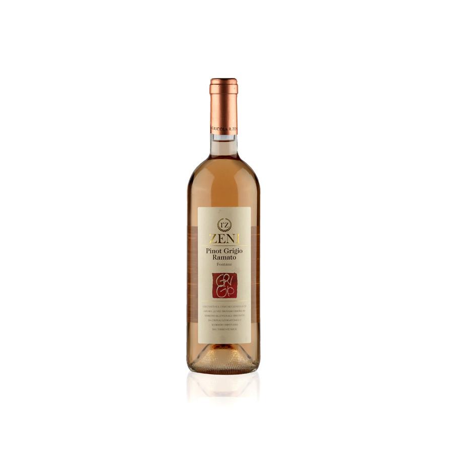 """Vino pinot grigio ramato """"Fontane"""""""