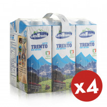latte trento intero 24 cartoni