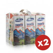 latte trento parzialmente scremato 12 litri