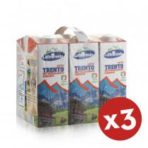 latte trento parzialmente scremato 18 litri