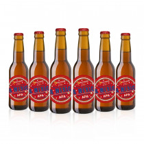 birra la merica apa melchiori 6 bottiglie x 33 cl