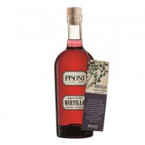 grappa mirtillo Pisoni Trentiner bottiglia 0,7 l
