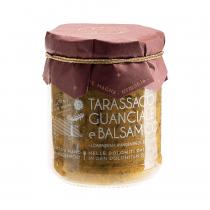sugo pronto guanciale, tarassaco e aceto balsamico di Modena IGP Alpe Magna 180 g vasetto
