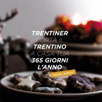cesto natalizio personalizzato prodotti tipici del Trentino