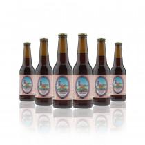 6 bottiglie Birra artigianale trentina Larixbier 0,22 l stile Dunkel