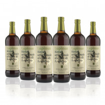 confezione da 6 bottiglie di Birra di Fiemme Lupinus con caffè di Anterivo