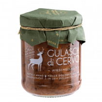 Gulasch Di Cervo Tradizionale in Vasetto 190 Gr