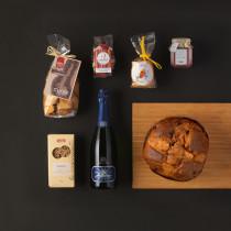 Pacco regalo 7 prodotti tipici Natale Trentino