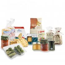 box degustazione ingredienti per ricette leggere e veloci dal Trentino