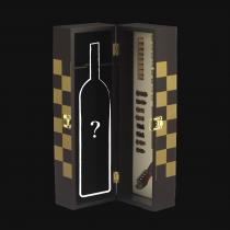Cassetta vino in legno con bottiglia a scelta Trentiner