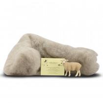lana cardata trentina La FIliera della lana 250 g grigio mélange