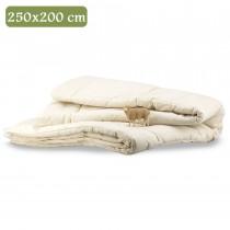 Trapunta naturale 250x200 1 piazza e mezza letto lana Trentino