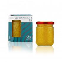 Confezione e vaso 200 g uova di salmerino Armanini