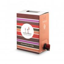 Confezione di vino sfuso in bag in box 3 litri