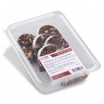 Salame dolce di cioccolato senza glutine