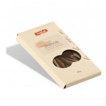Tavoletta di cioccolato fondente all'arancia