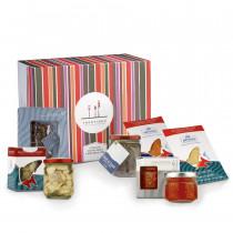 confezione regalo Tridentum con prodotti ittici Armanini Trentino