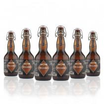 6 bottiglie Weizenbier 50 cl birra artigianale trentina Gilmozzi